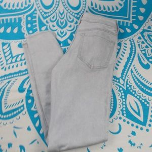 Old Navy 6R 6 The Rockstar Mid Rise Light Wash